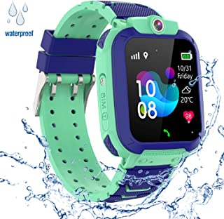 GPS Niños Impermeable Smartwatch, Reloj Inteligente Smart