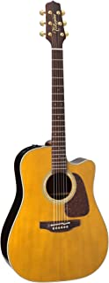 Takamine Pro Series 5 P5DC Dreadnought Acoustic-Electric Guitar (Whiskey Brown)