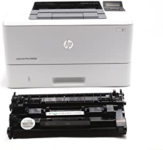 Renewable Toner LaserJet M402N MICR Check Printer Bundle with 1 RT CF226A 26A Compatible MICR Toner Cartridge