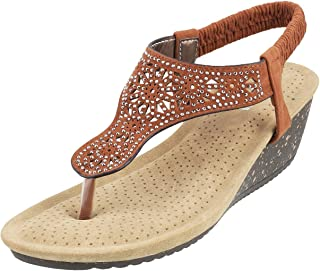 Mochi Women Black Synthetic Sandals (33-170)