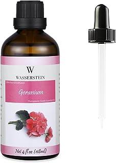 Wasserstein Aromatherapy Essential Oil, 100% Pure, 4 oz, Geranium