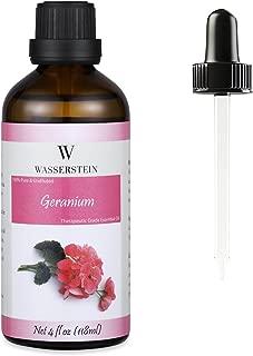 4oz Geranium Essential Oil, 100% Pure & Natural by Wasserstein