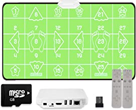 Dance Mat Pad Pads, Antislip Somatosensorische Dance Machine Touch For Volwassenen/Kinderen Geschenken (Color : Green)
