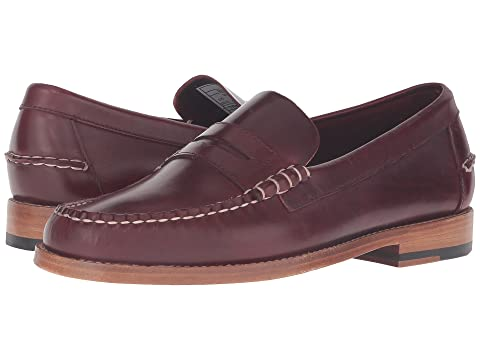SEBAGO Legacy Penny, Red Leather