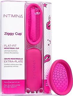 Intimina Ziggy Cup – extra dunne herbruikbare menstruatiecup met plat design