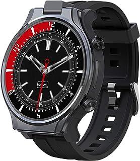 "Smart Watch, Fitness Tracker 2.1"" Smartwatch, Face Unlock Phone Watch with 1600mAh Battery, GPS Sport Watch with 13MP rota..."