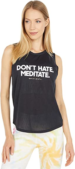 Meditate Active Muscle Tank
