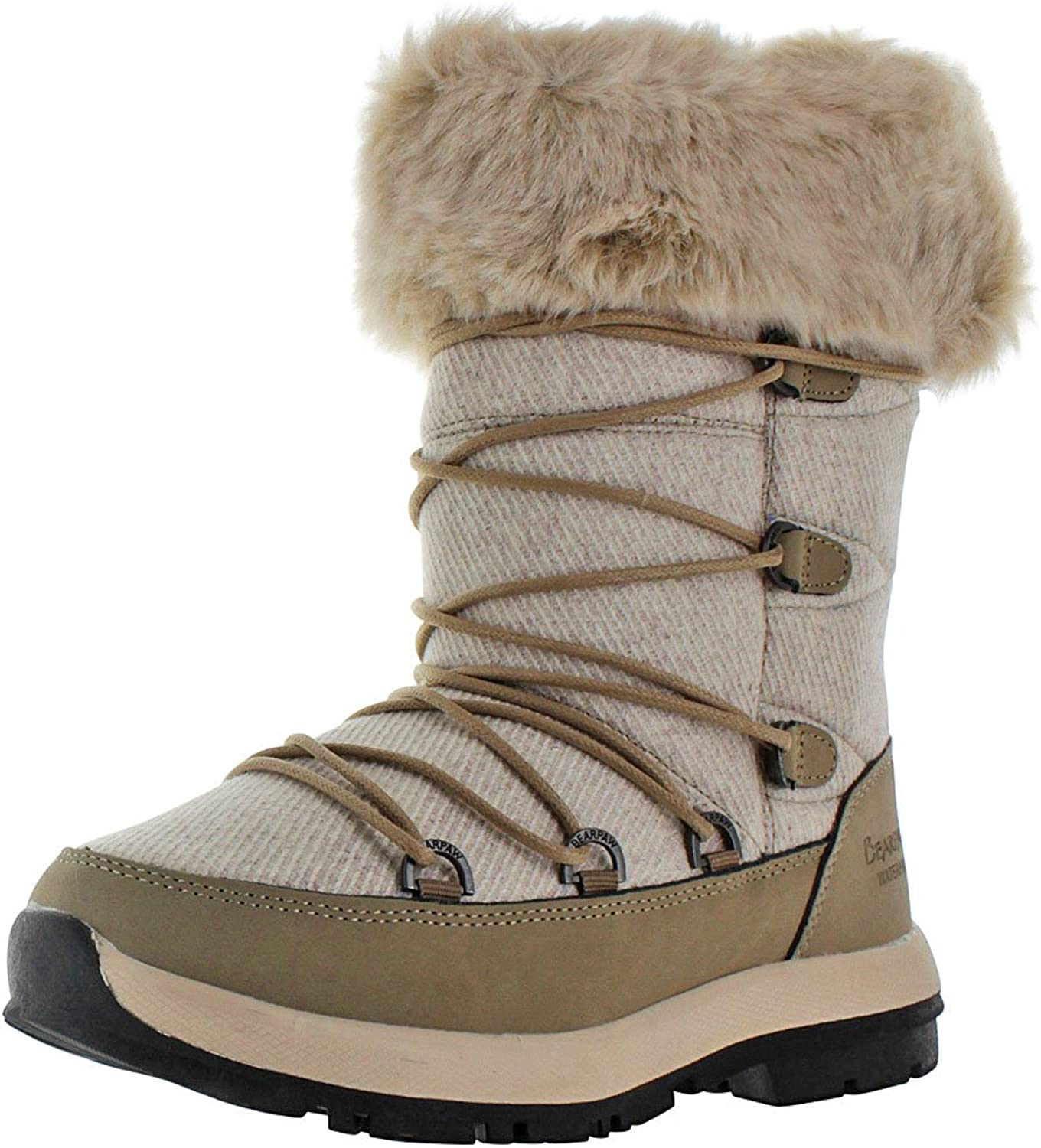 Bearpaw Womens Leslie Snow Boot