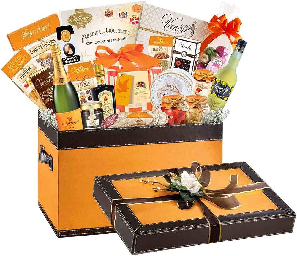 Store di wine gift baskets,cesto pasquale,forziere pasquale luxury gourmet,alta gastronomia,dolce e salato p2021