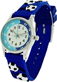 Reflex Boys Time Teacher Blue Football Strap Watch REFK0007