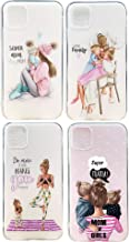 iPhone 11 Clear Case Mom-Dad- Baby Girl-boy-Family - Silicone Case - Shockproof/Waterproof - Slim, Sleek Design! - Compatible with All iPhone 11 Models- Shock Proof (iPhone 11 Pro/Max- Dance Mom)