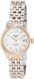 ساعة تيسوت لي لوكال ستانلس ستيل ذهبي وردي 5N,رمادي T41218333