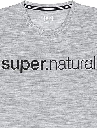 super.natural M Graphic Tee Maglietta a Maniche Corte da Uomo Uomo