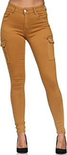 Onsoyours Donna Leggings High Waist Casual Elegante Elastico Skinny Matita Pantaloni Tinta Unita Stretch Slim Fit Pants