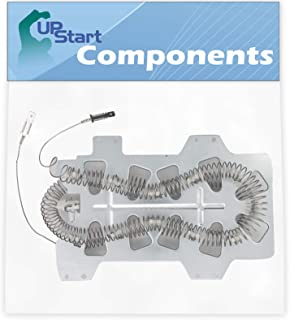 DC47-00019A Dryer Heating Element Replacement for Samsung DV50F9A6EVW/A2-0001 Dryer - Compatible with DC47-00019A Heater Element - UpStart Components Brand