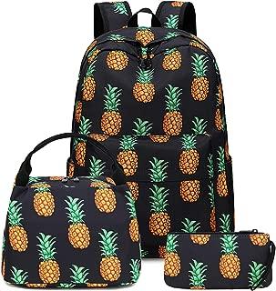 black pineapple backpack