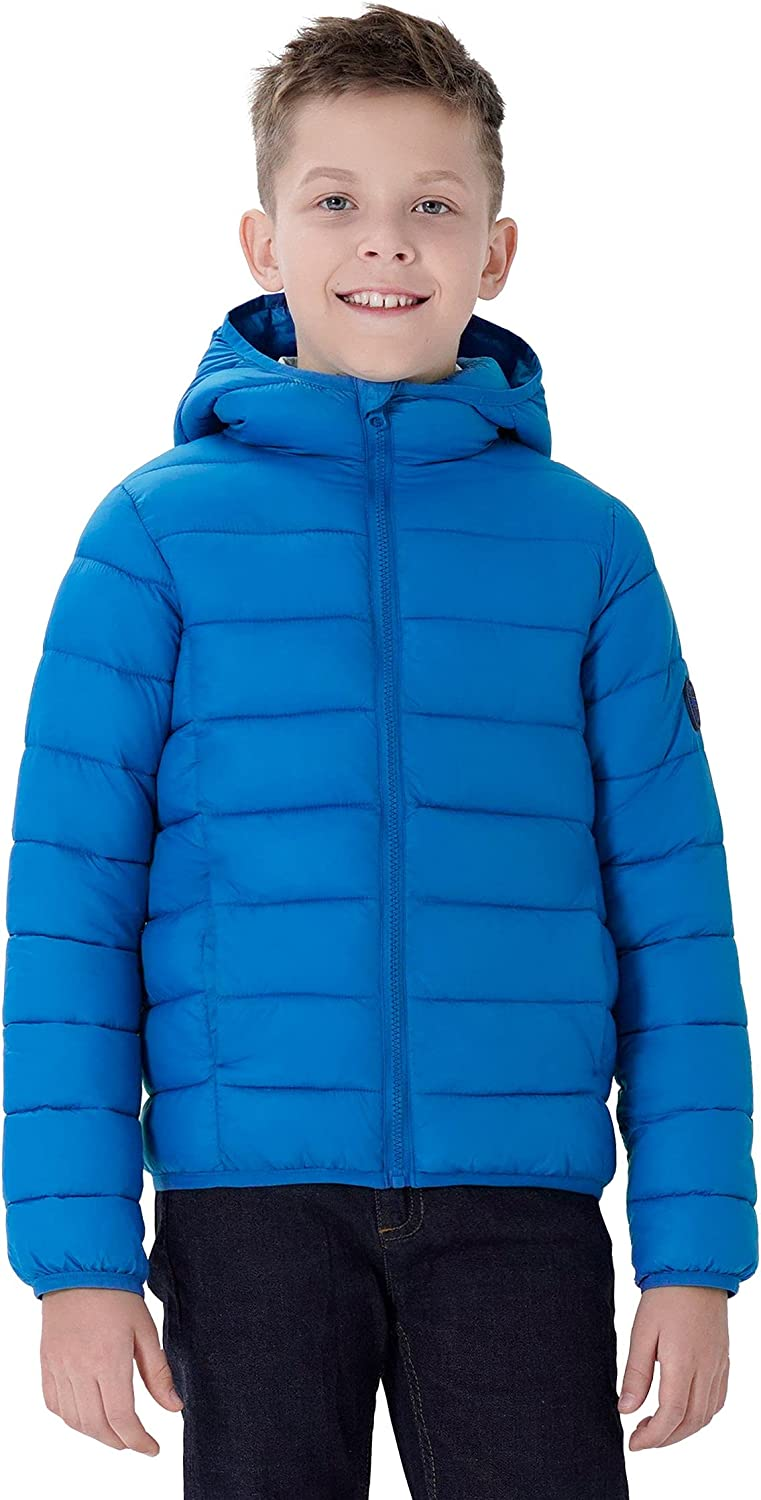 SOLOCOTE Online limited product Boys Winter Year-end annual account Coats Windproof Lightweight Water-Resistant