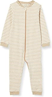 Fixoni Unisex Baby Nightsuit with Zipper and Foot Kleinkind-Schlafanzüge