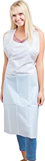 disposable aprons pack 100