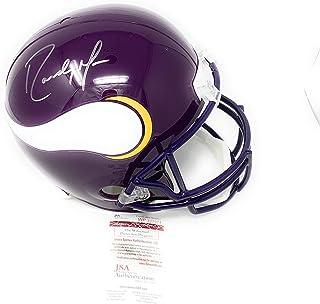 f34182a32d3 Randy Moss Minnesota Vikings Signed Autograph Throwback Full Size Replica  Helmet JSA Certified