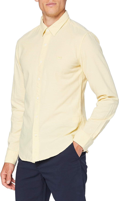 Levi's LS Battery Hm Shirt Slim Camisa Casual para Hombre