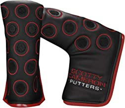 Scotty Cameron 7 Point Crown Matte Black Red Limited Edition Putter Headcover