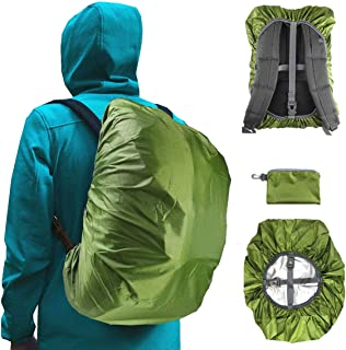 Frelaxy Waterproof Backpack Rain Cover for (15-90L), 2019 Upgraded Triple Waterproofing, Antislip Cross Buckle Strap, Ultralight Compact Portable, for Hiking, Camping, Biking, Outdoor, Traveling