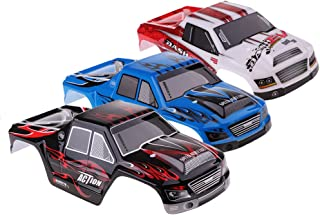 lahomia 3pcs WLtoys 1:18 Scale RC Car Body Shell A979 A979-B Spare Parts Accessories