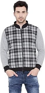 VIMAL JONNEY Cotton Black Fullsleevs Zipper Sweatshirt for Men (SW_31_01-P)-SW_31_01-P