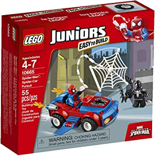 LEGO Juniors 10665 Spider-Man: Spider-Car Pursuit(Discontinued by manufacturer)