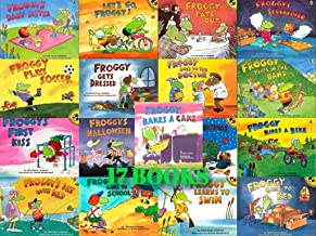 Froggy 17-Book Set (Froggy . . . Bakes a Cake, Eats Out, Gets Dressed, Goes to Bed, Goes to School,