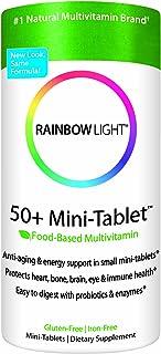 Rainbow Light 50+ MiniTab Age-Defense Formula, 90 Mini-Tabs, (Pack of 3)
