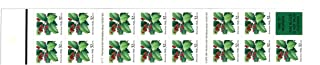 Vintage Christmas Holly Postage Stamps (Booklet of 15x32¢ Stamps)