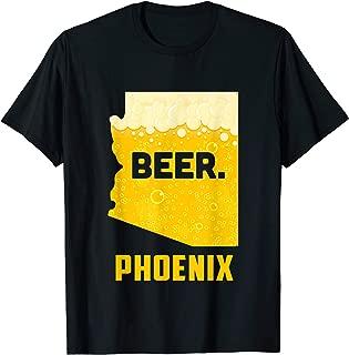 State AZ Arizona Drinking Home Love Beer Phoenix City T-Shirt