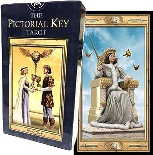 タロットカード 78枚 ウェイト版 タロット占い 【 ピクトリアル キー タロット The Pictorial Key Tarot 】日本語解説書付き [正規品]