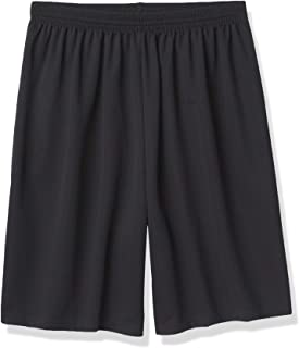 شورت رجالي ماركة Augusta Sportswear بطول أطول من نسيج شبكي رياضي