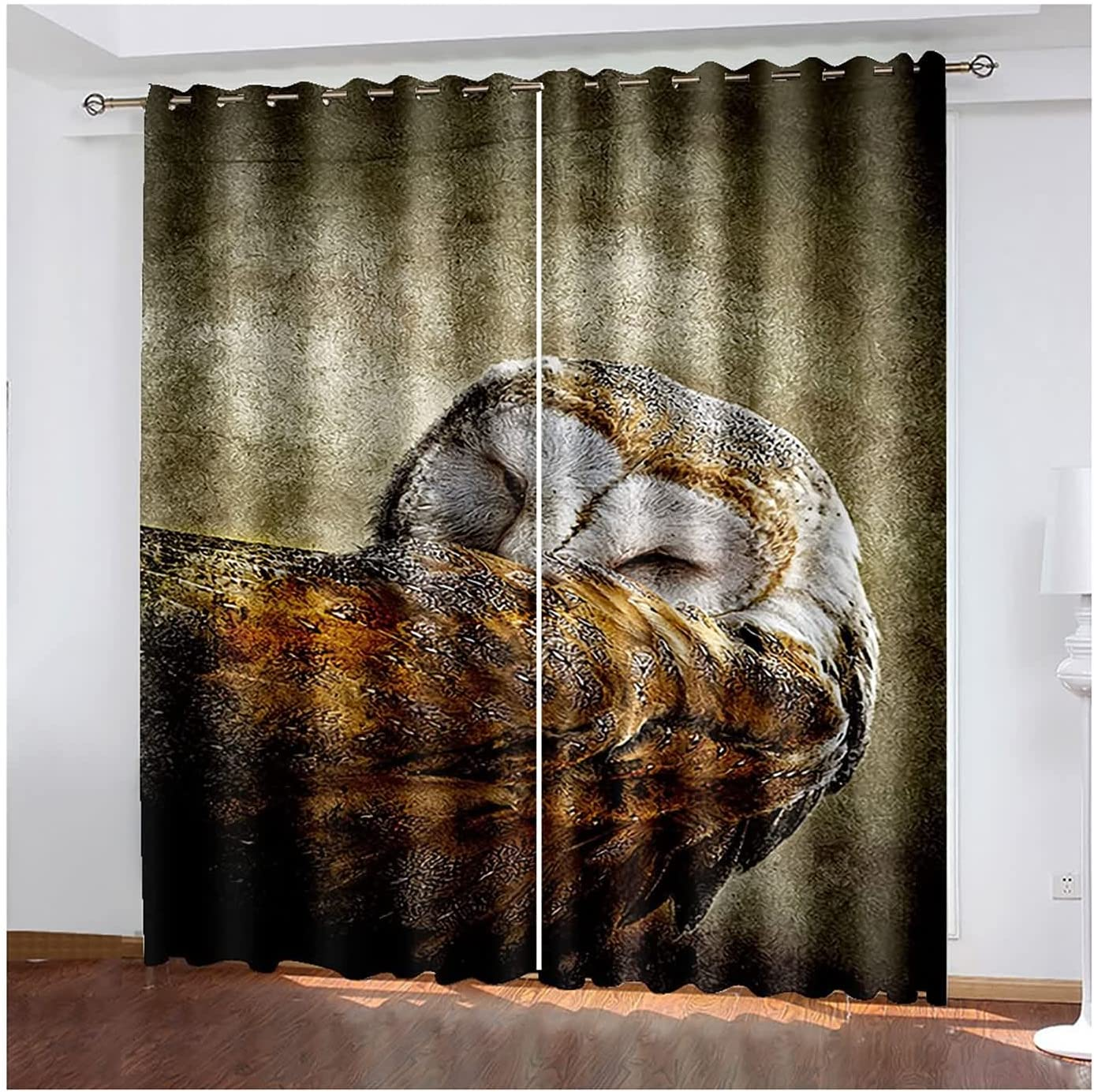 Blackout Drapes 2 Panel Curtain Ranking TOP6 Window Owl Eyelet Recommended Trea
