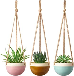 Best hanging planter pottery Reviews