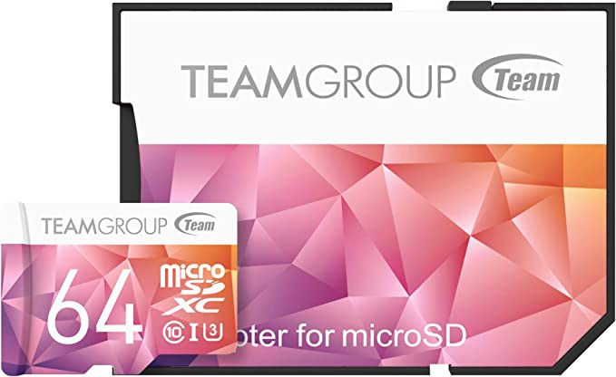 Teamgroup Tciiusxh64gu358 Color Card Ii Uhs I U3 Microsd 64gb Pack Of 3