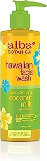 Alba Botanica Hawaiian Nourishing Face Wash, Coconut Milk, 8 Fl Oz