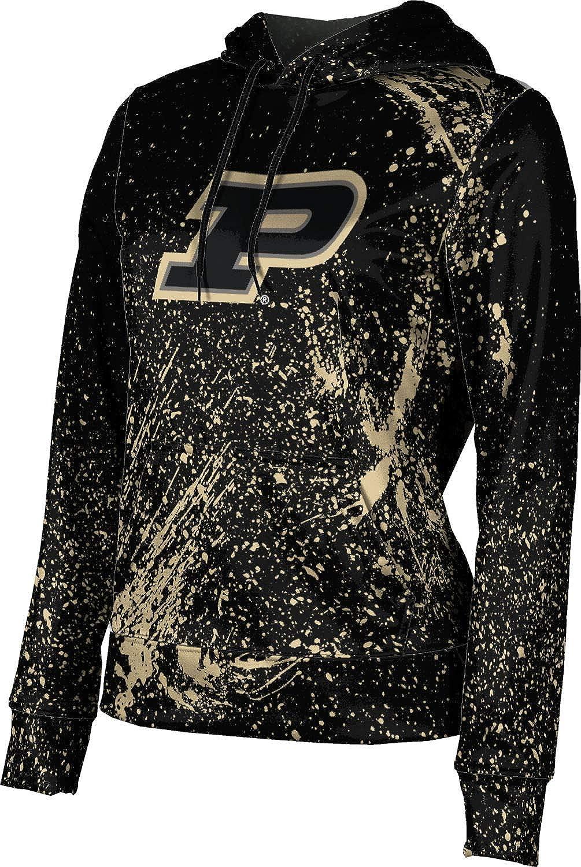ProSphere Purdue University Girls' Pullover Hoodie, School Spirit Sweatshirt (Splatter)