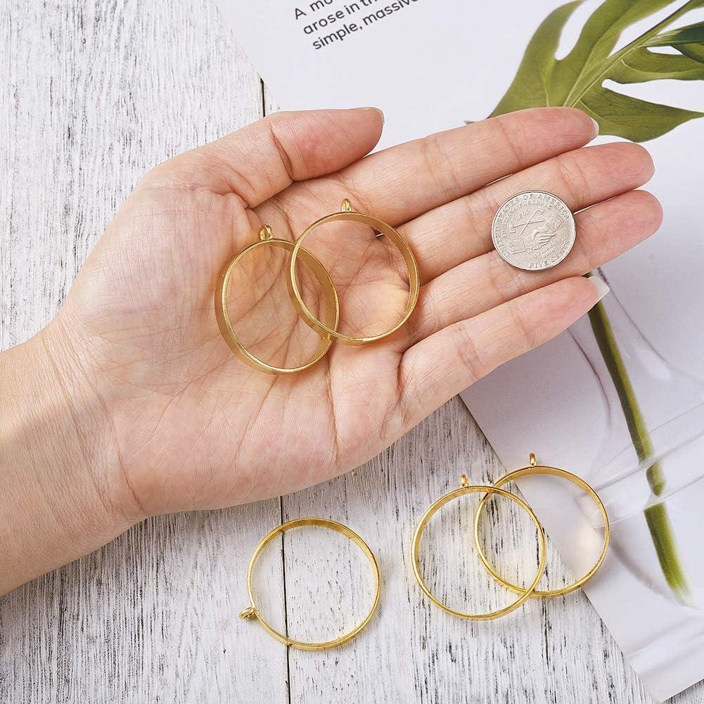 fabrication de bijoux en r/ésine Cheriswelry Lot de 10 pendentifs /à cadre ouvert en forme de c/œur en forme de c/œur avec des breloques en forme de c/œur et des cadres creux pour bricolage