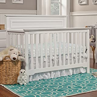 4 in 1 white crib