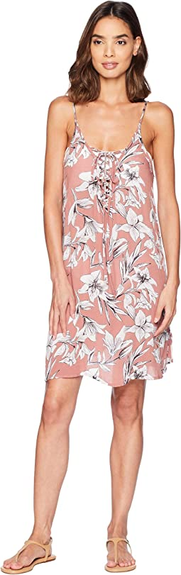 Softly Love Printed Dress Cover-Up