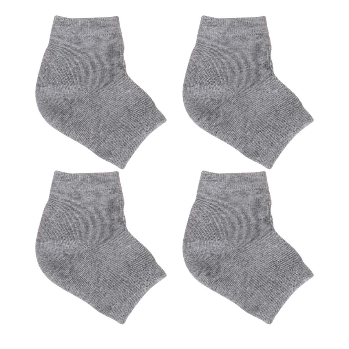 LEORX Moisturizing Socks 2 Regular store Cheap sale Heel Pairs Anti-crack Silicone