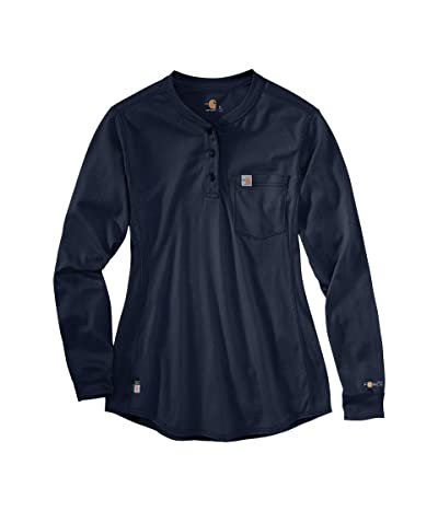 Carhartt Flame-Resistant Force(r) Cotton Long Sleeve Henley