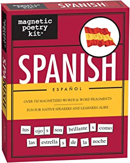 Magnetic Poetry - Spanish Kit - Words for Refrigerator - Write Poems and Letters on The Fridge - Made in The USA