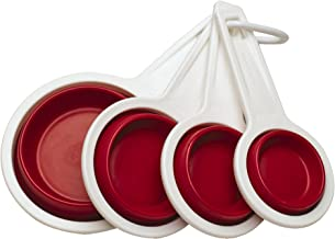 Farberware Fresh Collapsible Measuring Cups, Strawberry