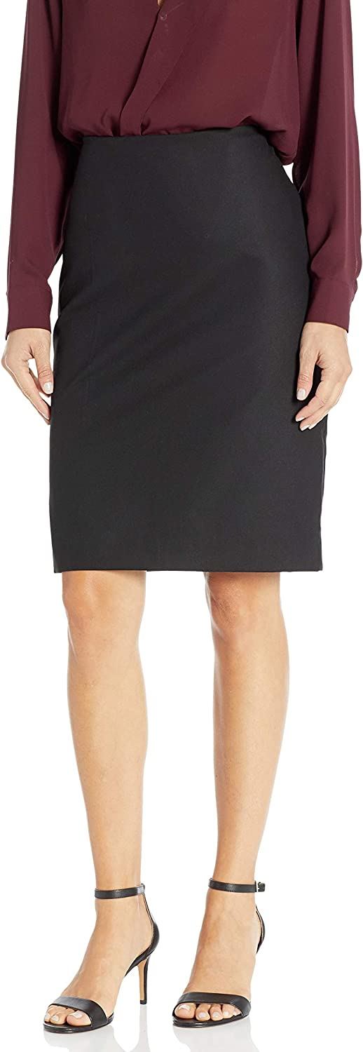 Chaps Women's Stretch Cotton Refined Suiting Pencil Skirt