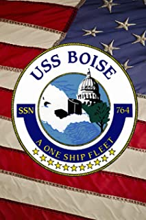U S Navy Attack Submarine USS Boise SSN 764 Crest Badge Journal: Take Notes, Write Down Memories in this 150 Page Lined Journal